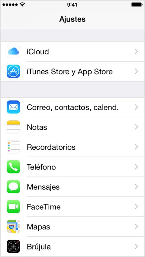 Configurar el correo en un iphone o ipad