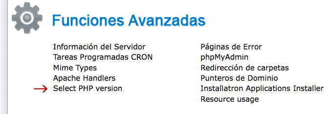 Seleccionar PHP